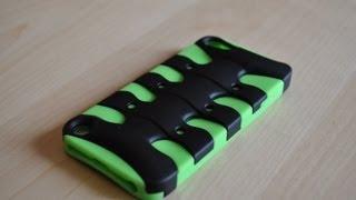MYBAT 3D Fishbone Hybrid Case For IPod Touch 5th Generation