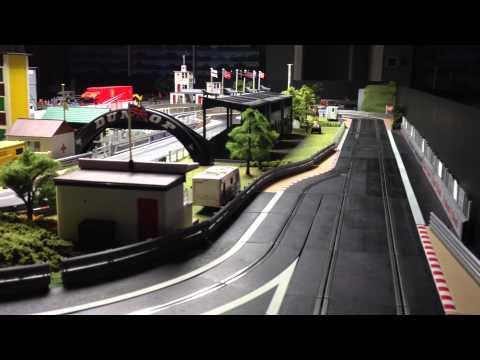 Massive Digital Scalextric Set – Thatchers Raceway – Jadlam Racing Models