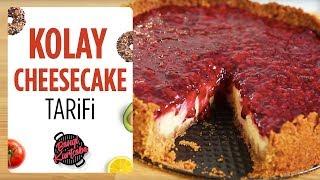 Kolay Cheesecake Tarifi | Evde Cheesecake Nasıl Yapılır?
