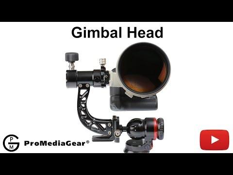 ProMediaGear Tomahawk Gimbal Sidekick Attachment for Ball Heads
