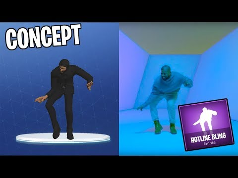 Fortnite: Drake Hotline Bling Emote
