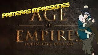 Age of Empires - Definitive Edition: Primeras Impresiones (Gameplay Español)