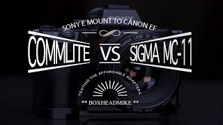 Sigma MC-11 Vs Commlite A7iii