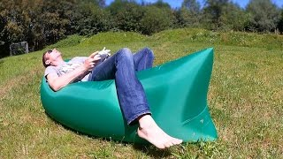 Selbstaufblasendes Outdoor Air Sofa / Lounger von Lightake.com // Vorstellung & Testbericht