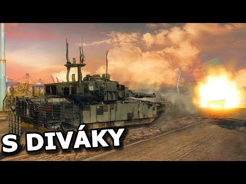 [TT] Tankové šílenství s diváky pokračuje! PONDĚLÍ-PÁTEK ARMORED WARFARE