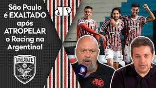 'É histórico: Quando ninguém acredita, o São Paulo ressurge'; veja debate após 3 a 1 no Racing