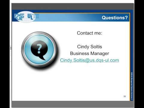 ISO 9001:2015 Revision Training Webinar - YouTube