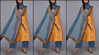 Latest Punjabi Suit Designs || Daily Wear Dupatta Suit Designs || Desi Fashion