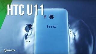 HTC U11, el smartphone que se deja apretar