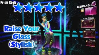 Dance Central Spotlight - Raise Your Glass (DLC) - Stylish Routine (Alternate) - 5 Gold Stars