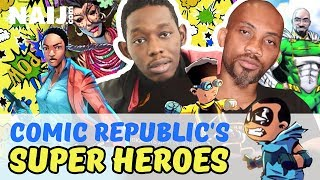 This Nigerian Comic Company Is Making Super Heroes That Can Beat Superman And Batman | Legit TV