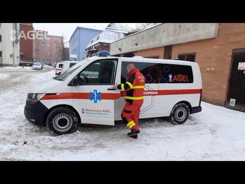 Video: Řidiči Nemocnice AGEL Ostrava-Vítkovice převezli v loňském roce 25 tisíc pacientů