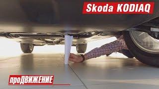 188 мм ?!     Первый товарный Кодиак. Обзор Skoda KODIAQ - 2017. АвтоБлог про.Движение