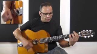 Bireli Lagrene - Acoustic Solo Guitar Improvisation #6 (Excerpt)
