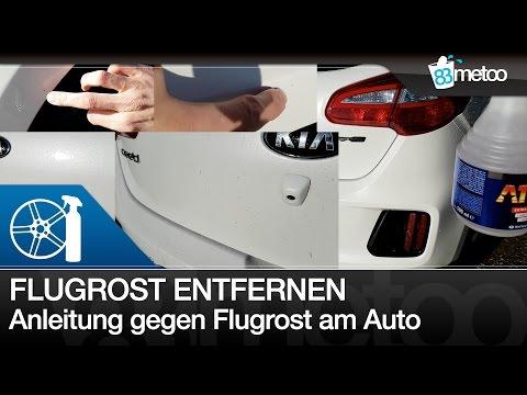 Flugrost entfernen am Auto | Flugrost Entfernung mit Dr. Wack A1 Flugrostentferner | 83metoo