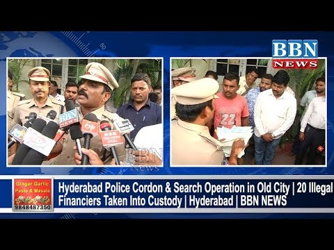Rowdy Sheeters Hulchul in Old City Hyderabad, Police Cordon