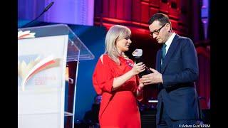 Mateusz Morawiecki podczas Gali Człowiek Roku Gazety Polskiej 2019