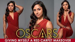I Gave Myself An Oscars Red Carpet Makeover 💄👗