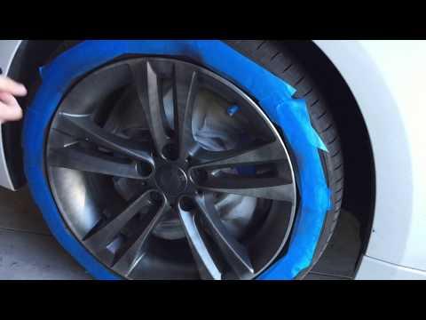 Plasti-Dipping Rims - 2016 BMW 328i