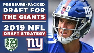 GIANTS are feeling the PRESSURE | 2019 NFL Draft Strategy | CBS Sports