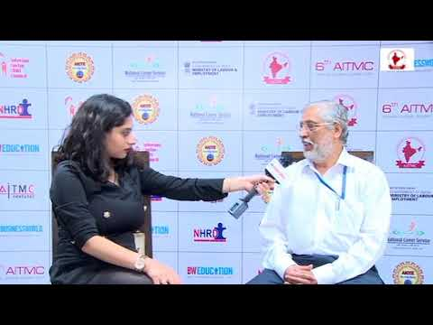 Dr. Anil Sahasrabudhe Ji, Chairman- AICTE at 6th AITMC Annual Global Summit 2017