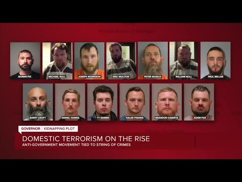 Domestic terrorism on the rise