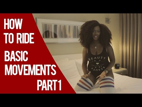 How To Ride  - Basic Movements Part 1