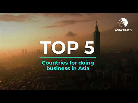 The top 5 countries for doing business in Asia