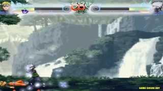 Game Naruto quyết đấu tập 5 - Naruto đánh nhau với Kakashi