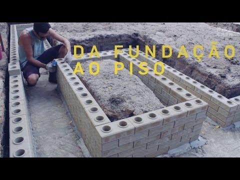 Da fundação ao piso - Faça você mesmo sua casa - Episódio 02