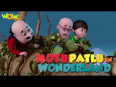 Motu Patlu Cartoons In Hindi   Animated movie   Motu Patlu in wonderland   Wow Kidz