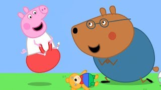 Peppa Pig Official Channel | Peppa Pig Meets Doctor Brown Bear