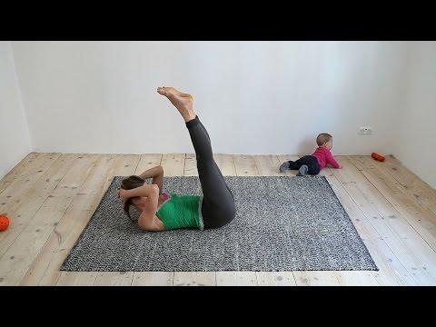 Video die Gymnastik für die Abmagerung in den häuslichen Bedingungen herunterzuladen