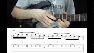 Best Two Hand Tapping Riff Ever (Lesson)