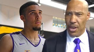 Lavar Ball REACTS to LiAngelo Ball Being UNDRAFTED