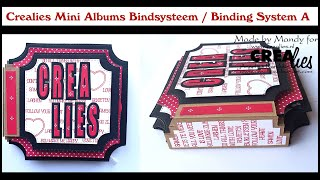 Crealies Mini Albums Bindsysteem A / Binding System A