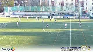 R.F.F.M. - Jornada 18 - Segunda Juvenil (Grupo 8): C.D. Canillas 2-1 Club San José del Parque.