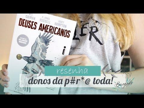 GRAPHIC NOVEL - Deuses Americanos (Neil Gaiman)   Resenha   Borogodó
