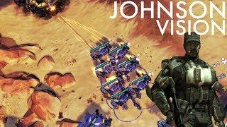 Halo Wars 2 - Using Johnsons Vision to Abuse Kodiak Range! - dooclip.me