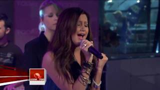 Ashley Tisdale It's Alright It's Ok  Live at Today Show HD