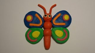Смотреть онлайн Урок лепки из пластилина для детей 7 лет