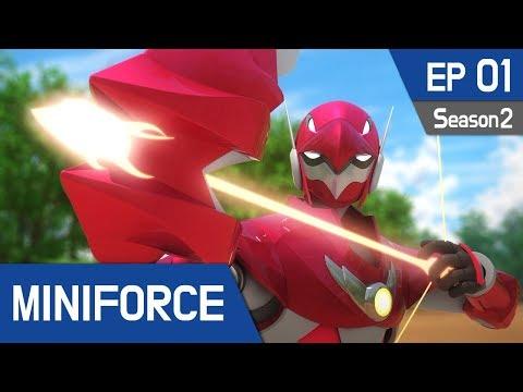 Miniforce Season2 EP01 Arrow of the Griffin (English Ver)