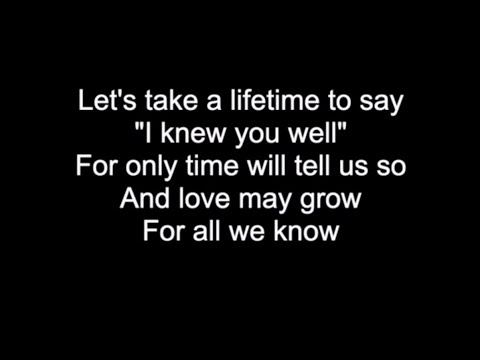 FOR ALL WE KNOW | HD With Lyrics | THE CARPENTERS cover by Chris Landmark