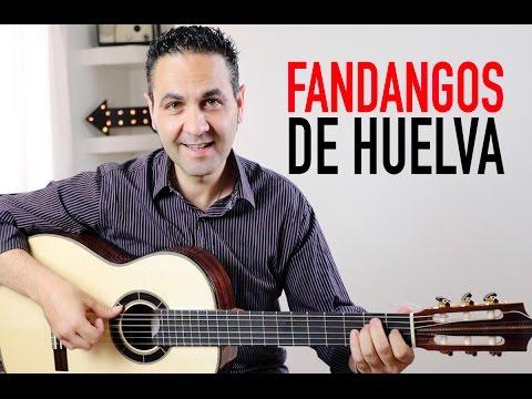 Download COMO TOCAR FANDANGOS DE HUELVA MUY FÁCIL (Jerónimo de Carmen TUTORIAL) Guitarraflamenca HD Video