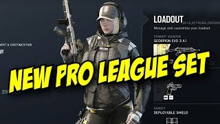 Rainbow Six Siege New Pro League Gold Set! Blackbeard, Jackal, Caveira Ela