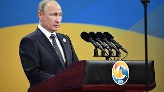 Пресс-конференция Владимира Путина по итогам визита в Китай. Полное видео