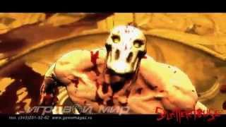 Splatterhouse - gameplay trailer (музыка: Pounding Nails(Into the Lid of Your Coffin)-The Accused)