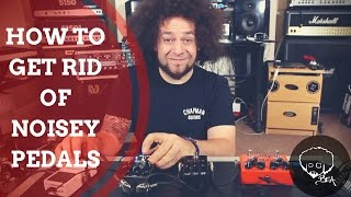 How To Get Rid Of Noisy Pedals