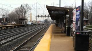 preview picture of video 'Northeast Corridor Action at North Elizabeth Featuring ACS-64 #602, Silver Meteor #97, and More!'