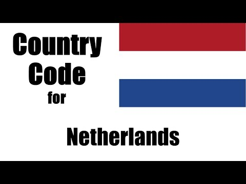 Netherlands Dialing Code - Dutch Country Code - Telephone Area Codes in Netherlands